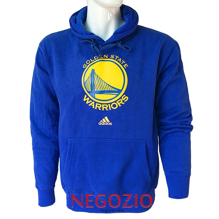 Migliori Felpe Con Cappuccio NBA Golden State Warriors Blu City