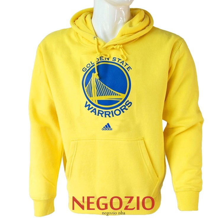 Migliori Felpe Con Cappuccio NBA Golden State Warriors Giallo City