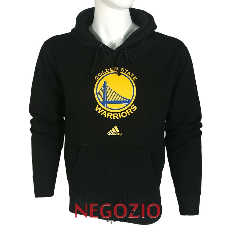 Migliori Felpe Con Cappuccio NBA Golden State Warriors Nero City